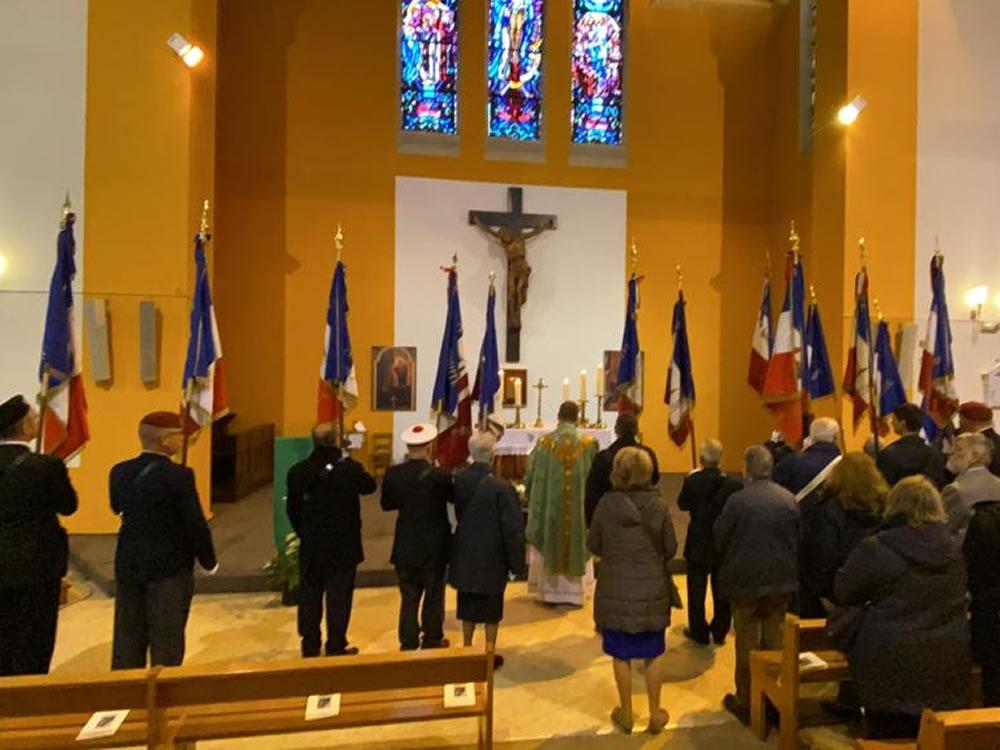 Messe de l'association du Souvenir français