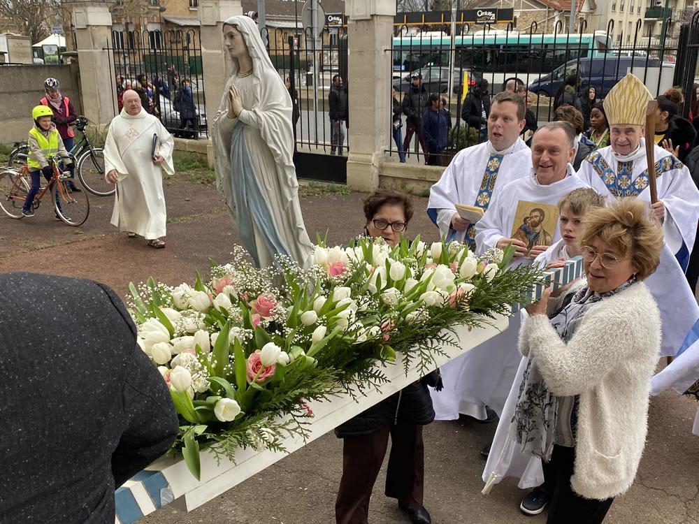 Fête de la paroisse Notre-Dame-de-Lourdes