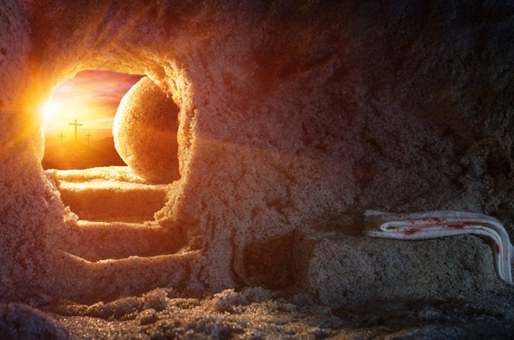 Joyeuses Pâques - Jésus est ressuscité !