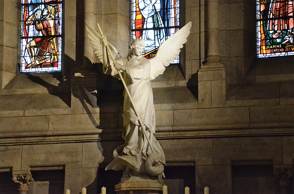 C'est la semaine pour fêter les saints anges !