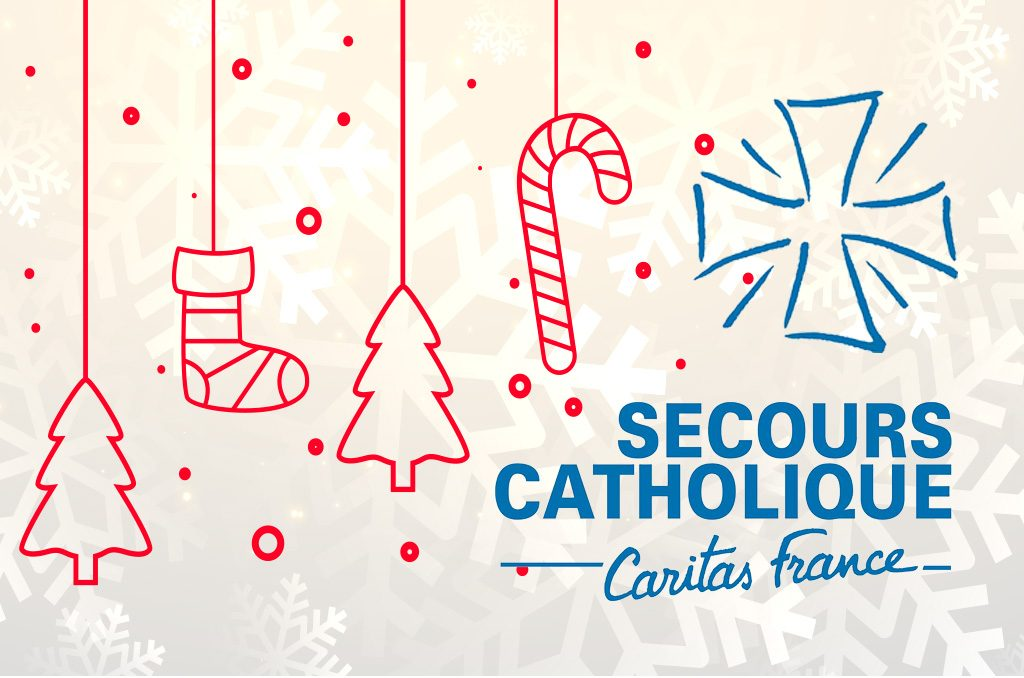 Secours Catholique : Vente d'articles de Noël